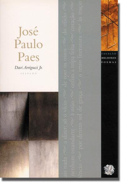 Melhores Poemas José Paulo Paes